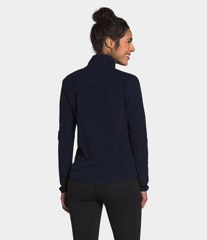 Chamarra Polar Cierre Completo Tka Mujer Azul Obscuro