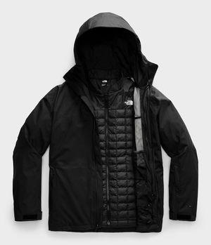Chamarra 3 En 1 Snow Thermoball Eco Hombre Negro
